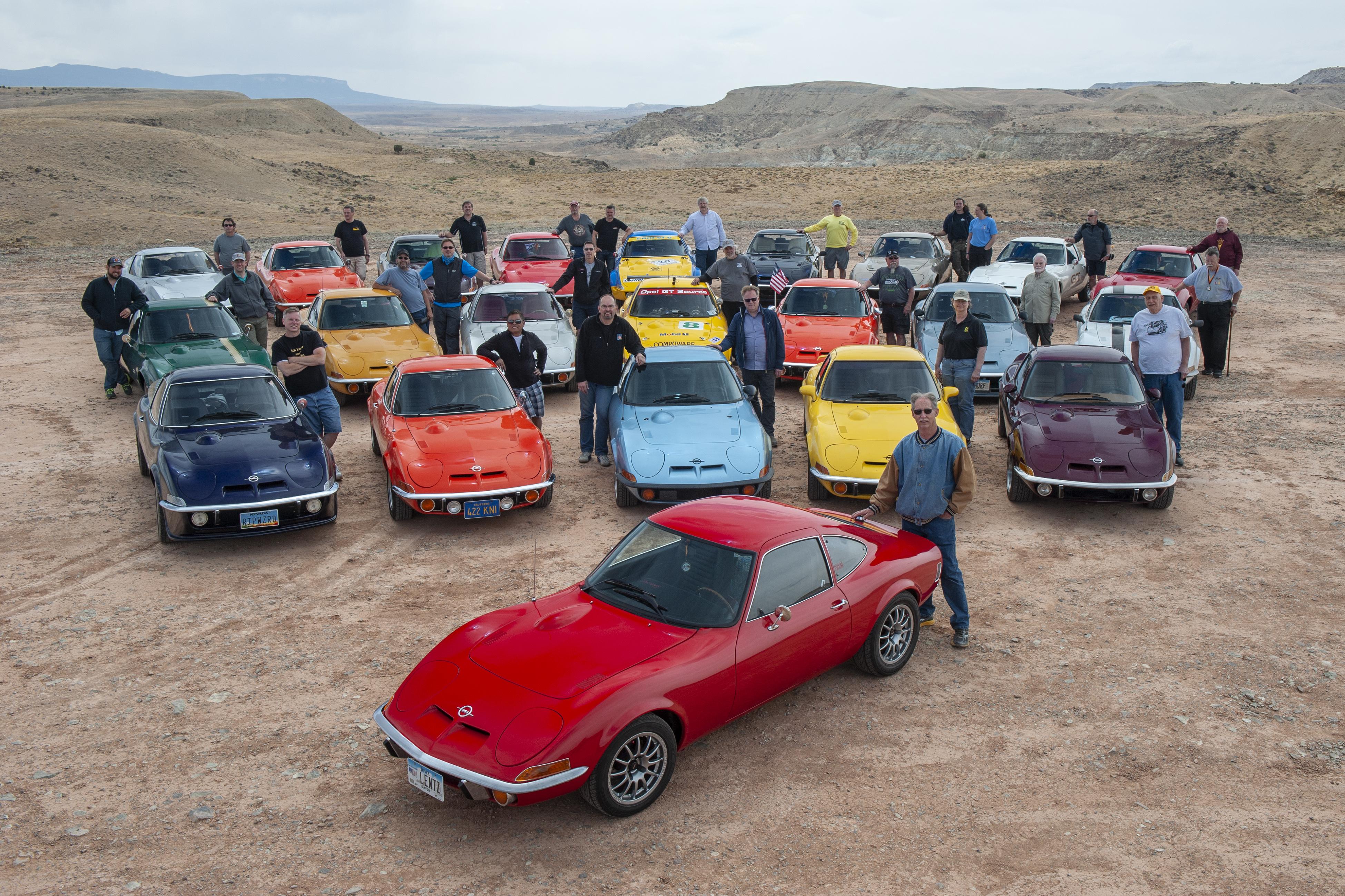 Opel sarbatoreste o jumatate de secol cu GT printr-un tur aniversar pe Route 66