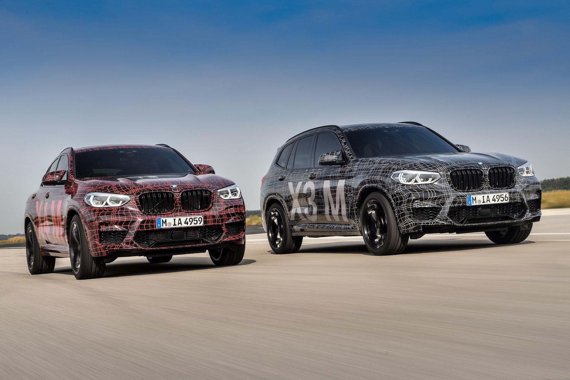 BMW lanseaza noile X3 M si X4 M. Din oferta nu lipseste o tractiune integrala inteligenta