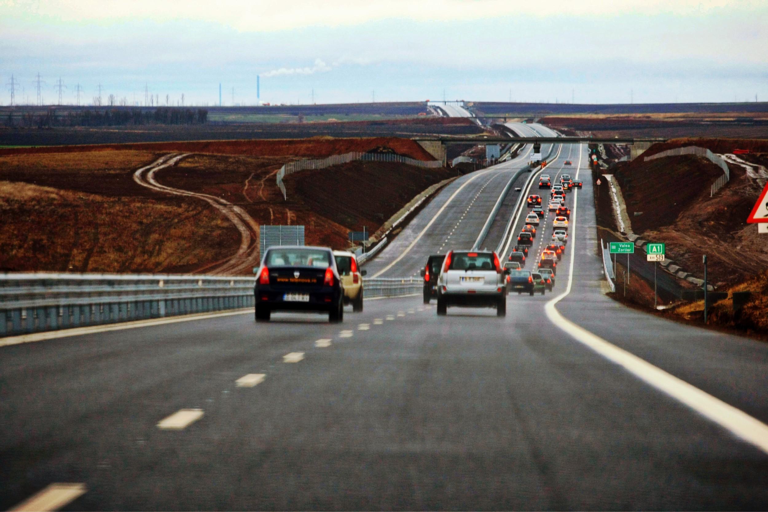 CNAIR deschide inca 21 de kilometri noi de autostrada pana la finalul anului. Unde sunt acestia