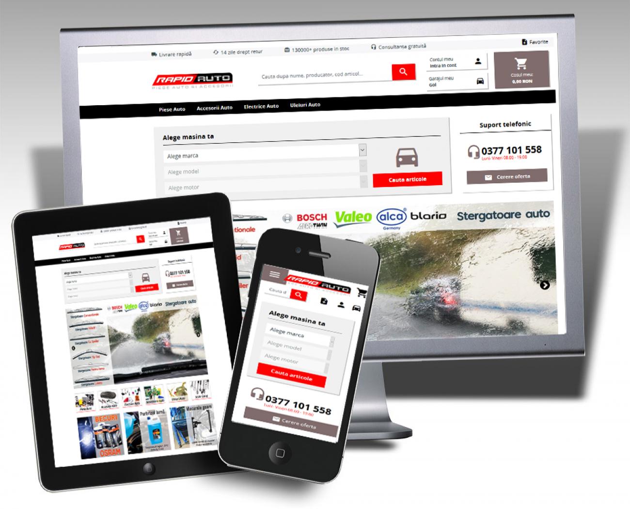 Best Auto Vest a lansat cel mai modern magazin online de piese auto - RapidAuto.ro