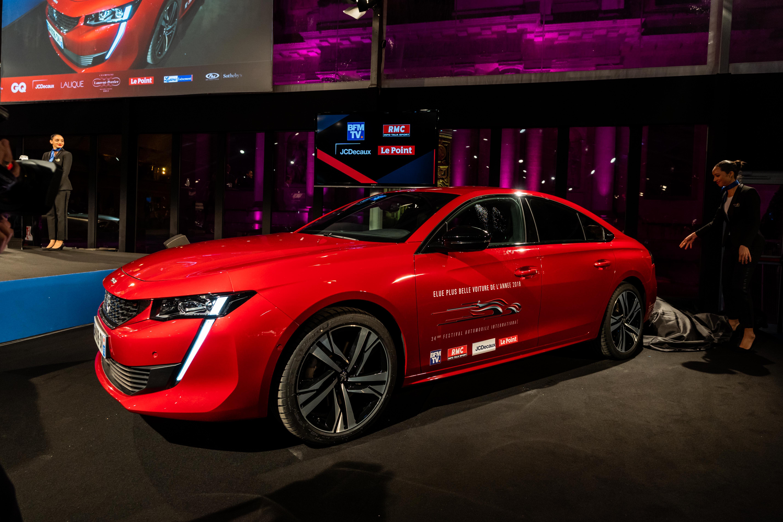 """Festivalul International Auto: Noul PEUGEOT 508 votat """"Cea mai frumoasa masina a anului 2018"""""""