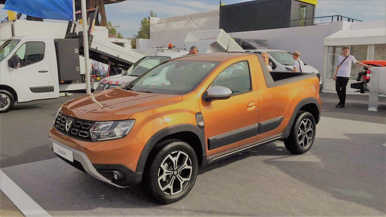 OFICIAL: Dacia Duster primeste anul acesta o versiune pick-up de fabrica