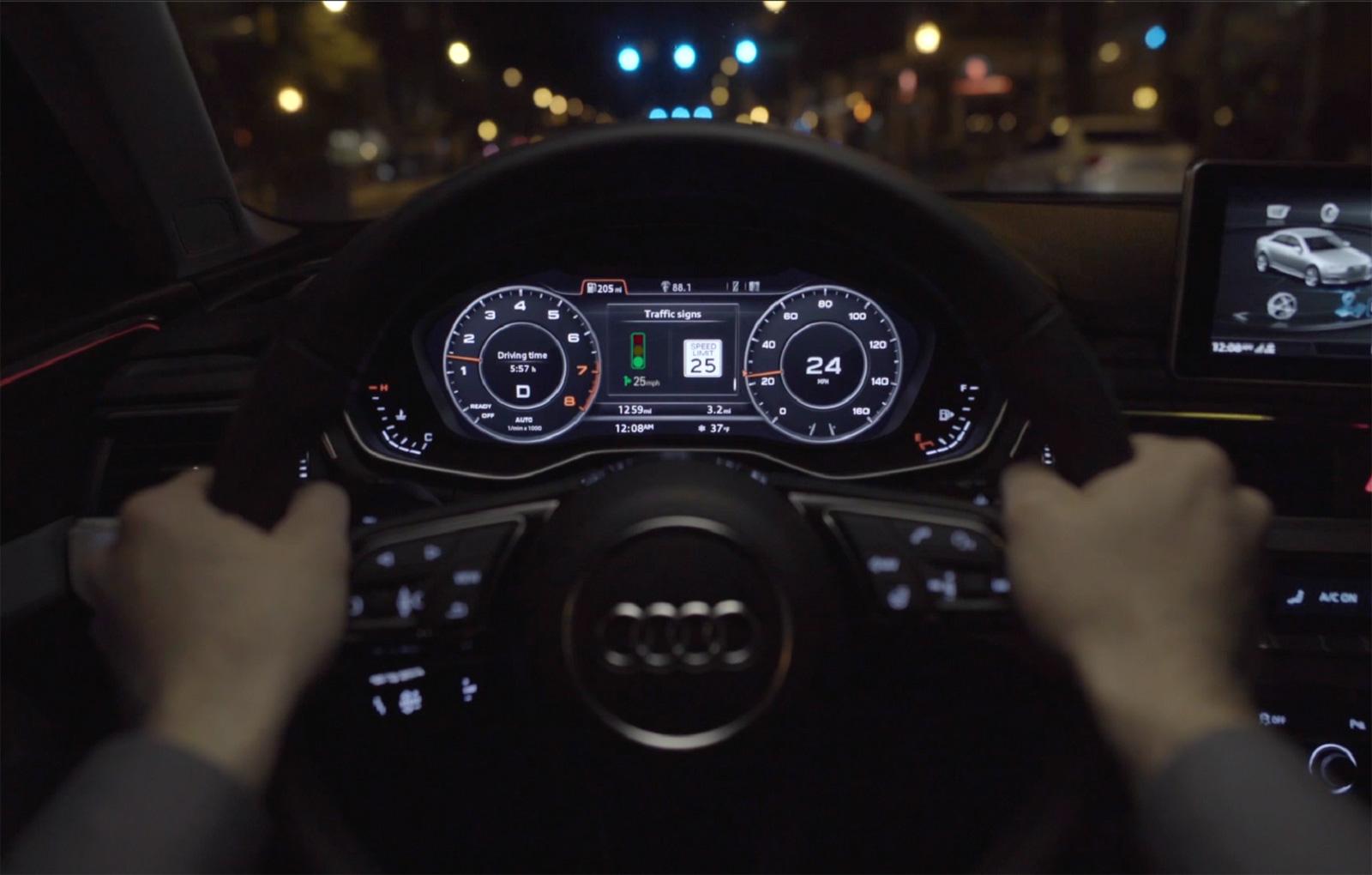 Inovatie de la AUDI: sistemul asta iti spune viteza optima pentru a nu mai stationa la semafor