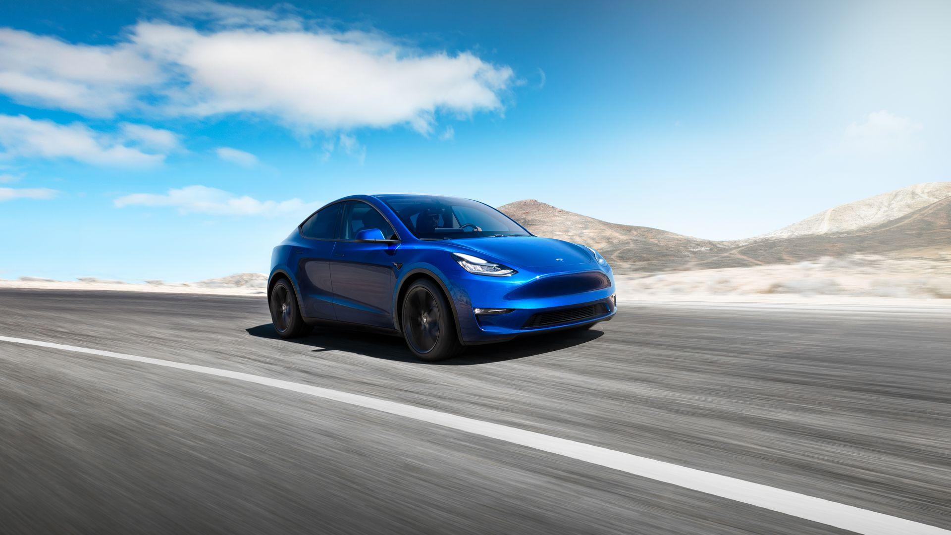 Tesla Model Y: noul SUV electric al americanilor lansat cu o autonomie maxima de 540 de kilometri