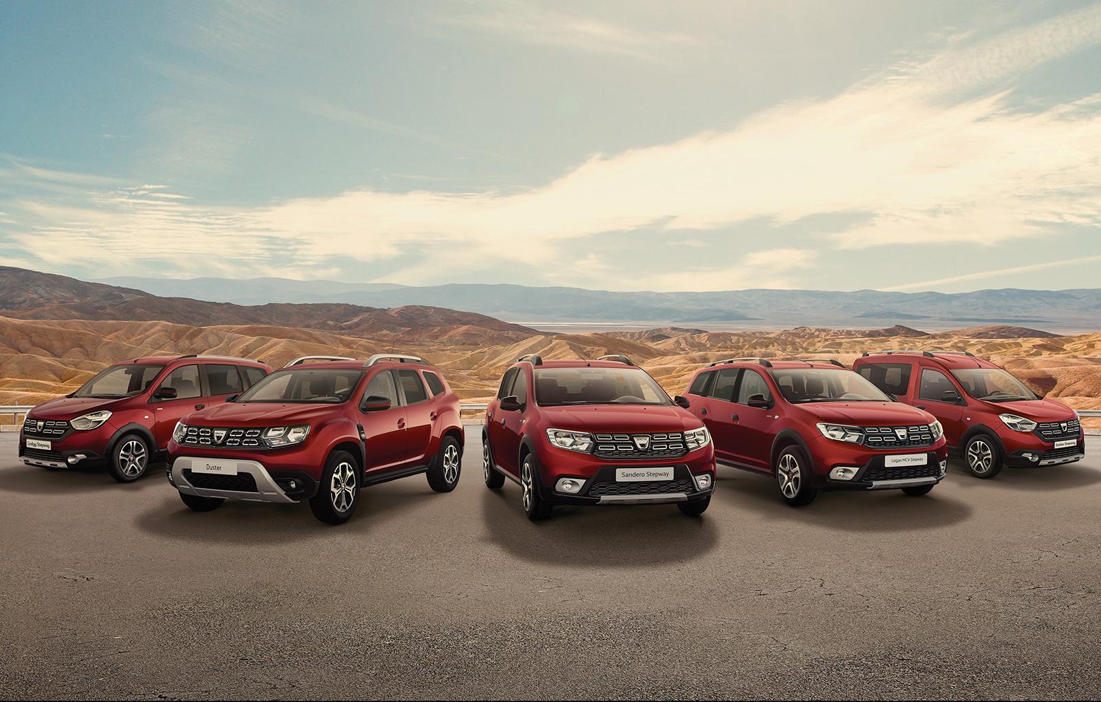 Dacia lanseaza in Romania seria limitata Techroad. Disponibila pe Duster, Logan si modelele din familia Stepway