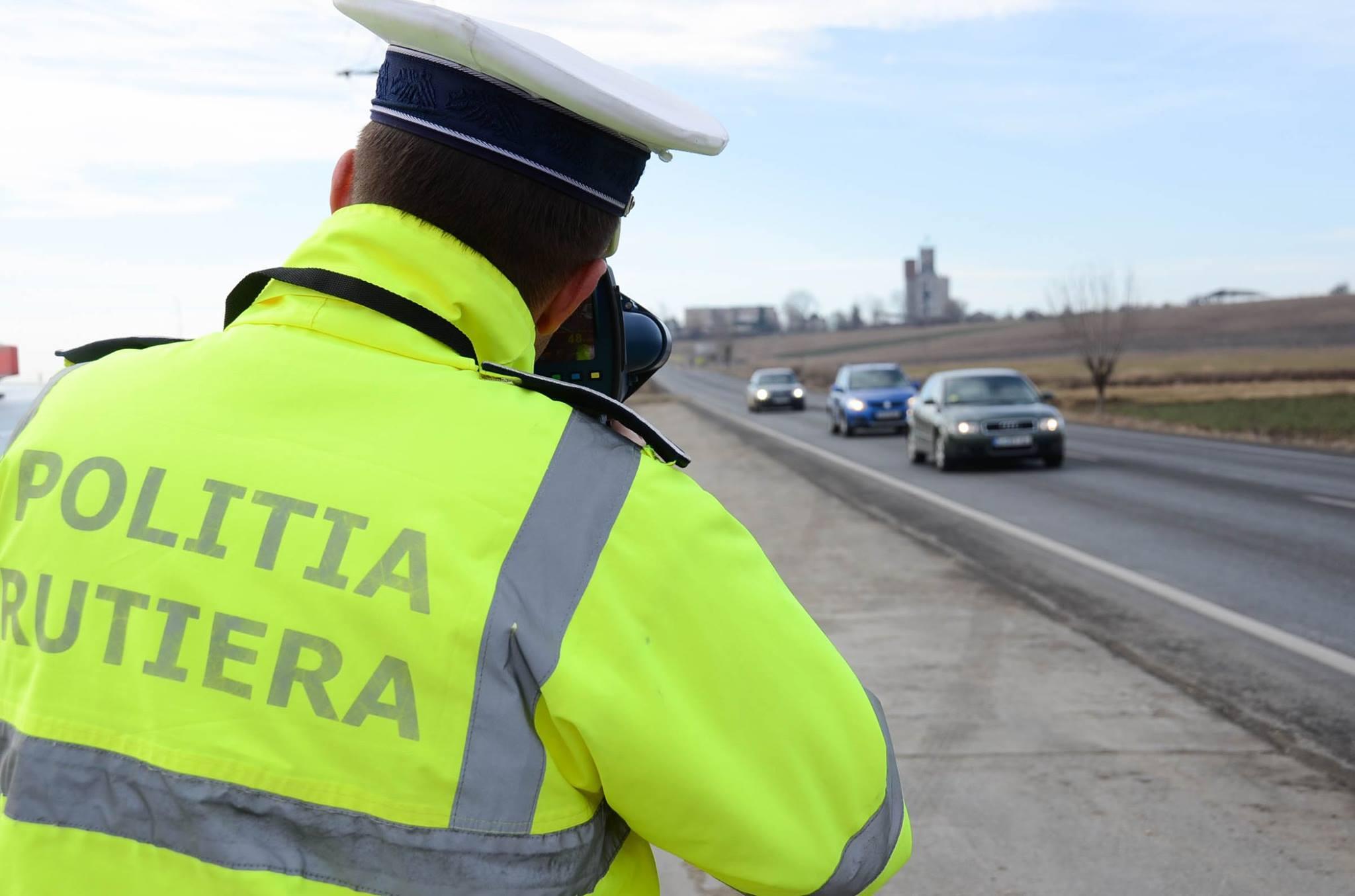 Bilantul actiunii Politiei Romane din weekend: 11.000 de amenzi si 1027 de permise retinute din cauza vitezei excesive