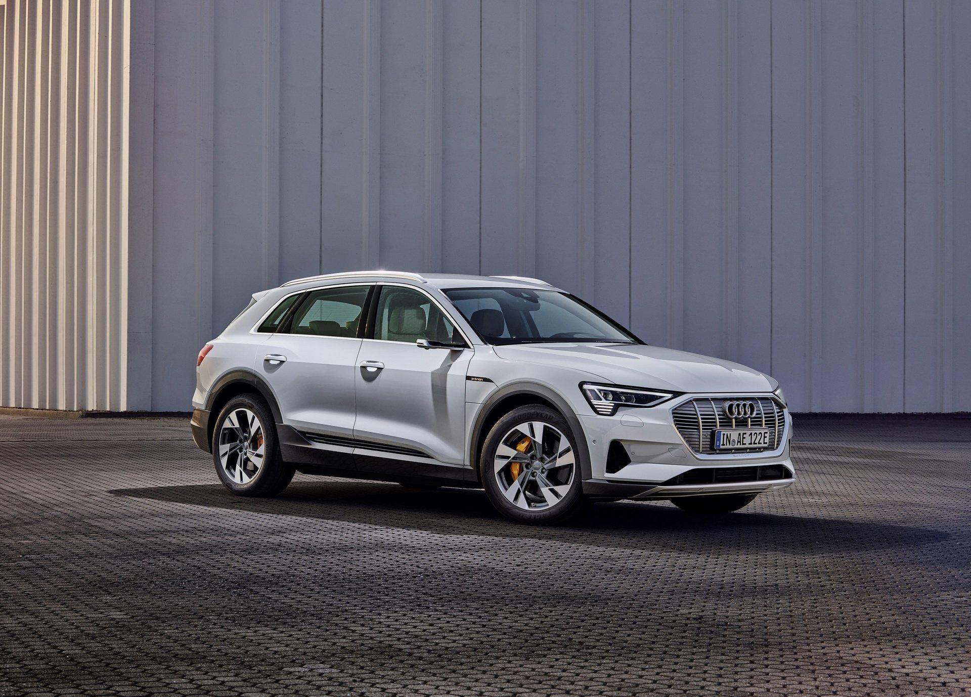 Audi e-tron 50 Quattro: versiunea mai accesibila a primului model 100% electric al nemtilor