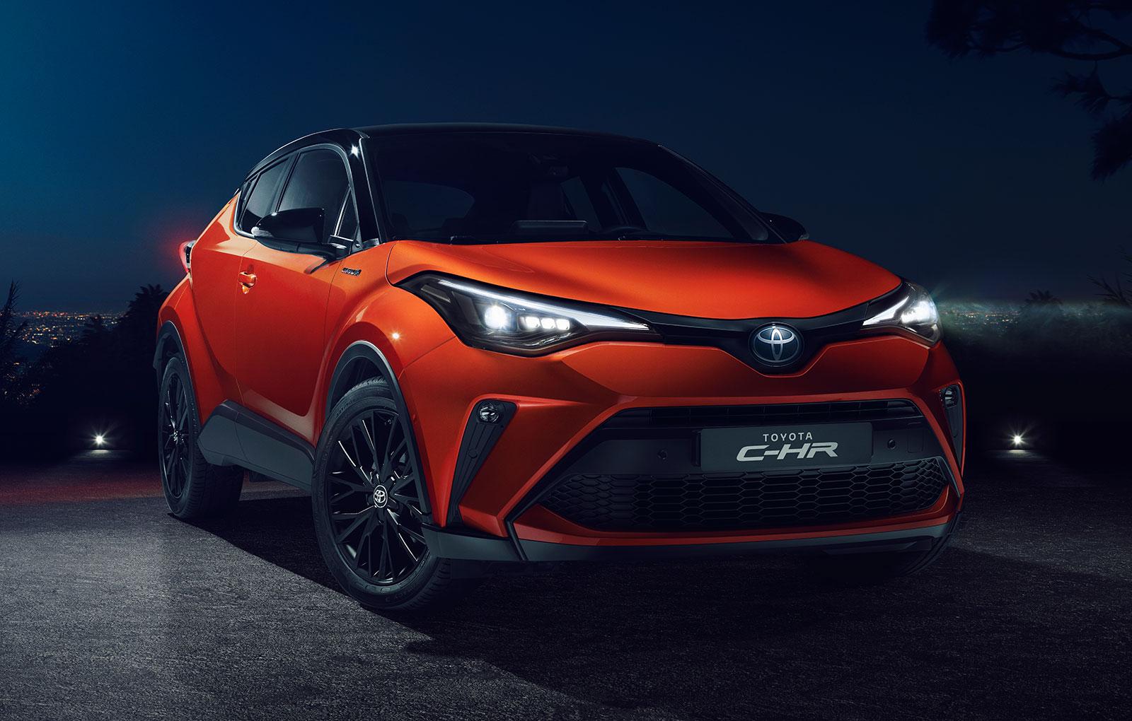 Facelift pentru Toyota C-HR: motorizare noua cu 184 CP si alte cateva imbunatatiri