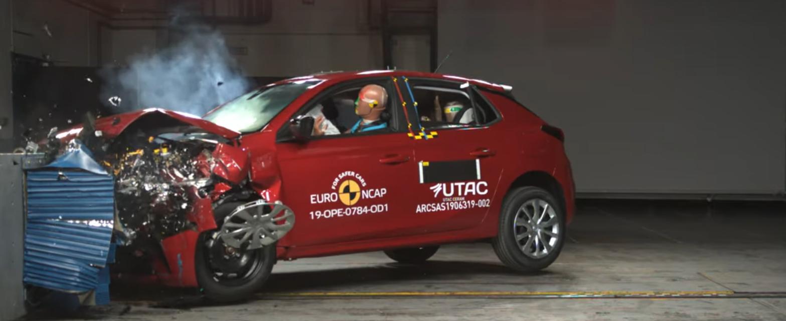 Noua generatie Opel Corsa nu impresioneaza deloc la Euro NCAP. A primit numai 4 stele