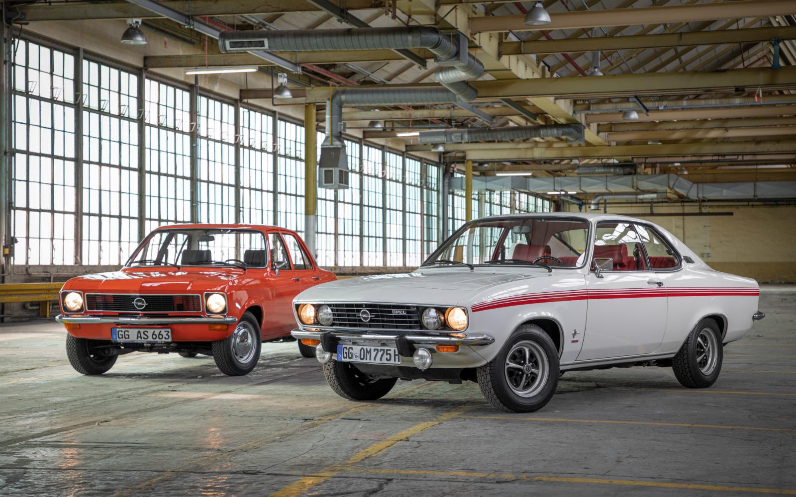 Anul legendelor: modelele Opel Ascona si Manta implinesc 50 de ani